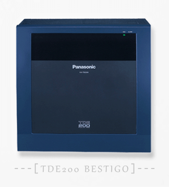Pabx IP Panasonic KX-TDE200 32 Extension