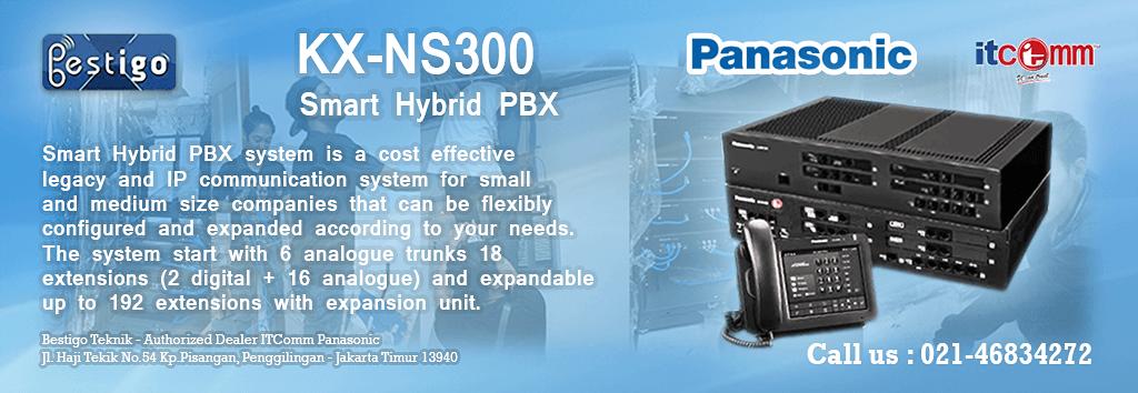 HARGA PABX IP PANASONIC KX-NS300