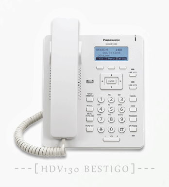 Telepon SIP Panasonic KX-HDV130