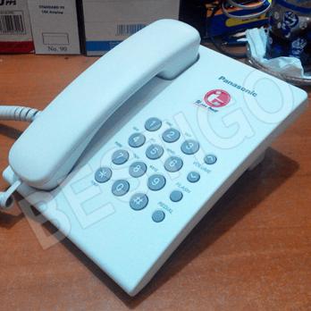 telepon single line KX-TS505 panasonic analog harga murah